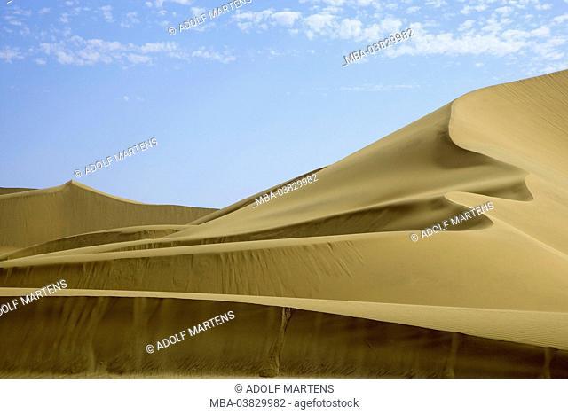 Africa, Namibia, desert, Namib desert, Erongo region, Dorob national park, dune area