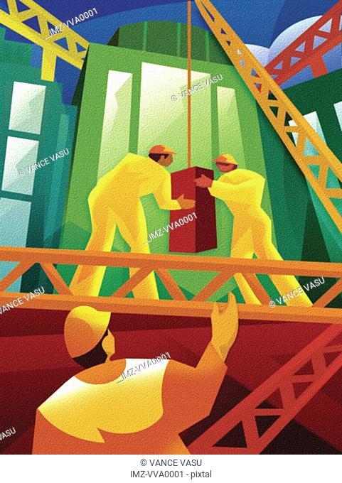 Illustration of a blocklift