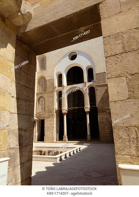 Madrasa Mausoleum Sultan Qalawun, Al Mu'izz historic street, Cairo, Egypt