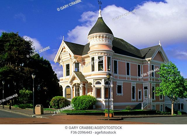The victorian `gingerbread house` Eureka Humboldt County, CALIFORNIA