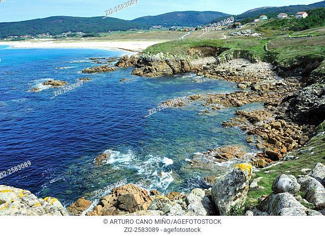 Costa da Morte. Laxe, La Coruña, Spain