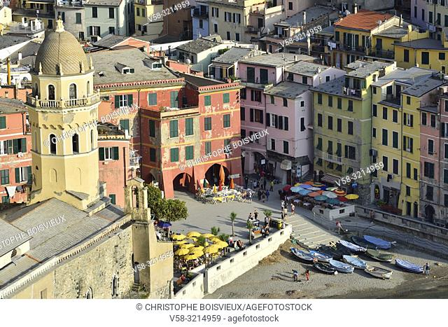 Italy, Liguria, Cinque Terre National Park, World Heritage Site, Vernazza