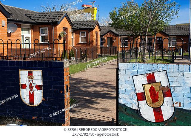 Sandy Row is a Protestant working class community in south Belfast, Northern Ireland, UK. It has a population of about 3,000