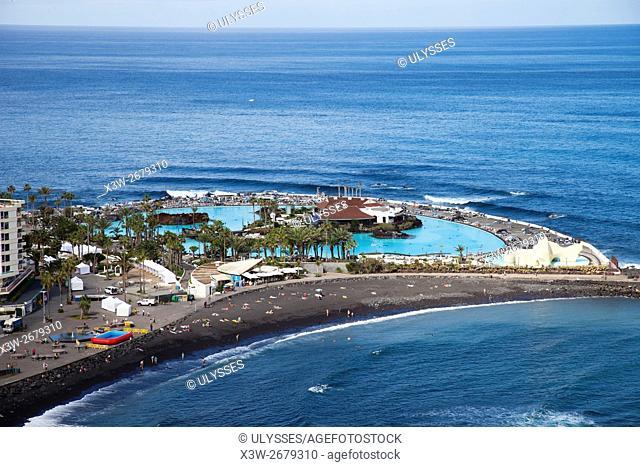 Puerto de la Cruz town, Tenerife island, Canary archipelago, Spain, Europe
