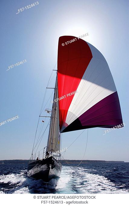 Bontekoning in the Superyacht Cup In Palma de Mallorca, Spain