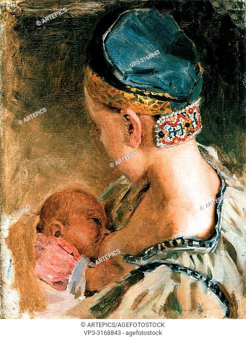 Gallen-Kallela Akseli - Karelian Mother