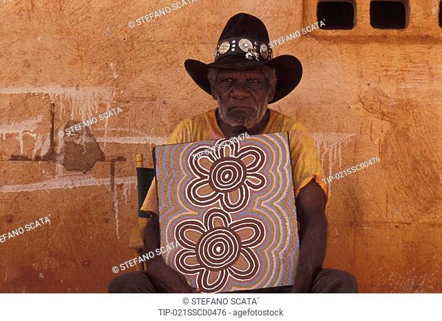 Australia: aboriginal artist
