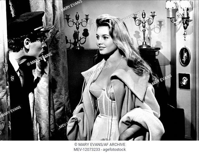 'Darry Cowl & Brigitte Bardot Characters: Hubert Dumont, Agnes Dumont Film: Plucking The Daisy; Mademoiselle Striptease; Mam'Selle Striptease; Please Mr
