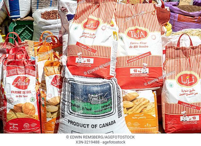 Assorted Bags of Food, Essaouira, Marrakesh-Safi, Morocco