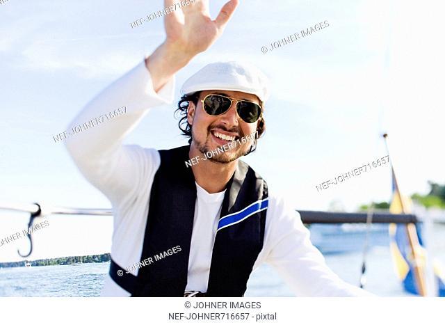 A man sailing, Sweden