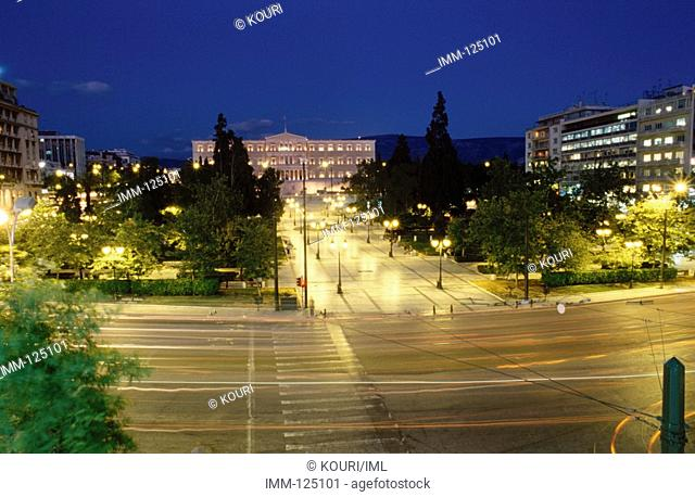 Athens in 72 Hours: A City Never Asleep Syntagma Constitution Square, & the Vouli Greek Parliament at night
