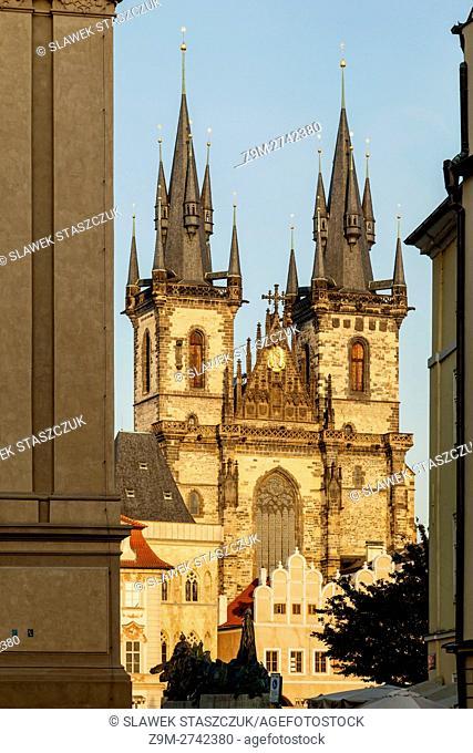 Church of Our Lady before Týn, Prague, Czech Republic