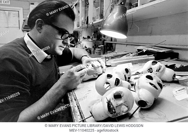 Making puppets for the classic 1960s series Thunderbirds, a British mid-1960s science fiction television show devised by Gerry and Sylvia Anderson and made by...