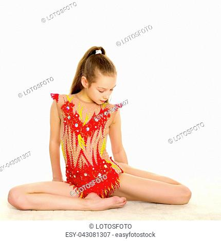 c3fb41899 Child gymnastic hoop Stock Photos and Images