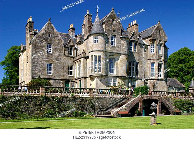 Torosay Castle and gardens, Mull, Argyll and Bute, Scotland