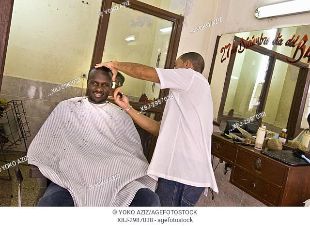 cuba, santiago de cuba, hairdresser