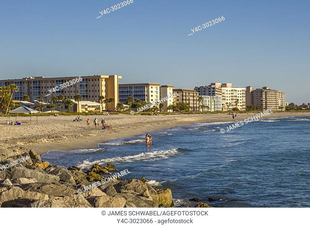 Venice, Florida, beach on the caost of the Gulf of Mexcio