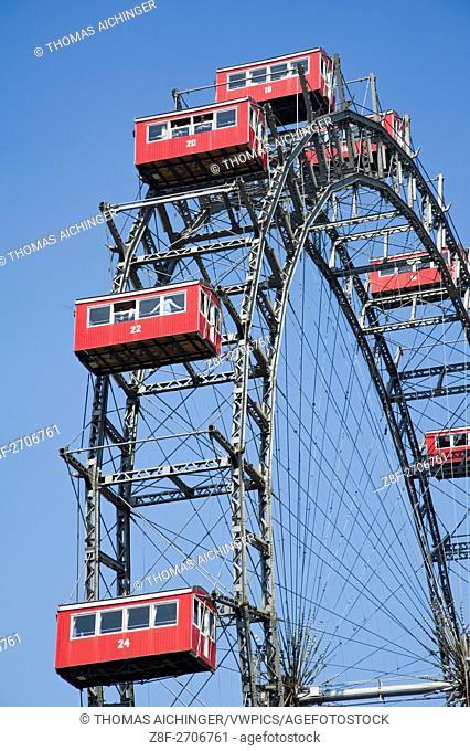 Ferris wheel from viena