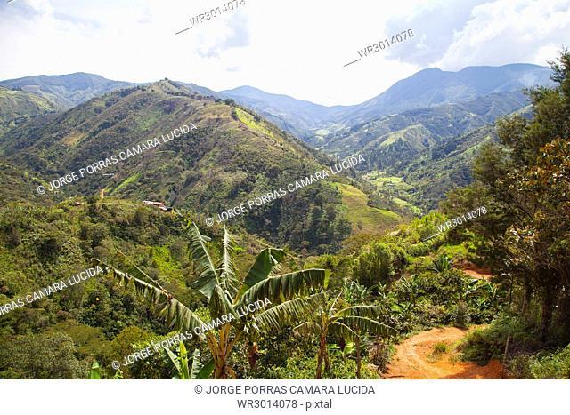Via El Toyo-Ca?±as Gordas; Antioquia; Colombia