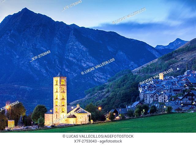 Taüll. Boí valley. Lleida province. Catalonia. Spain