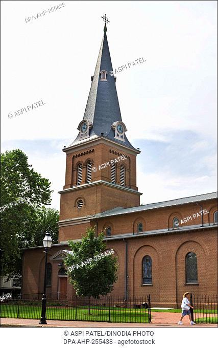St Ann Church, annapolis, maryland, usa