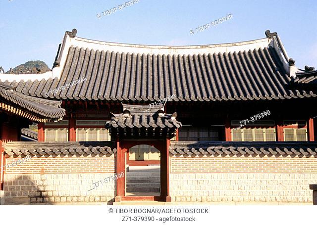 Gyeongbokgung palace. Seoul. South Korea