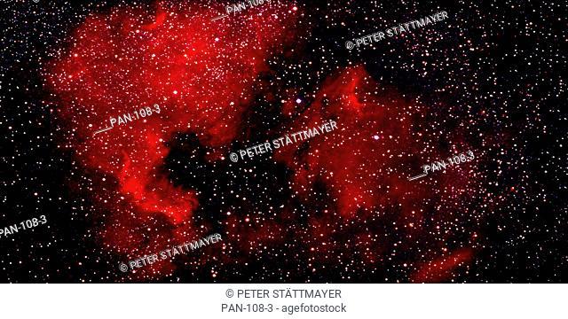 North American Nebula Photo Illustration