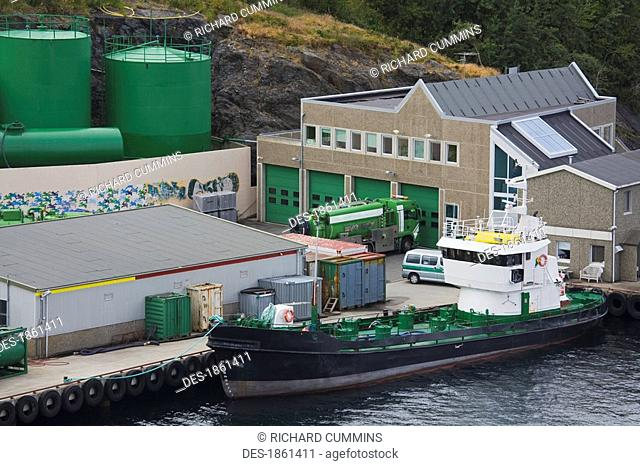 Oil tanker, Stavanger, Norway, Scandinavia