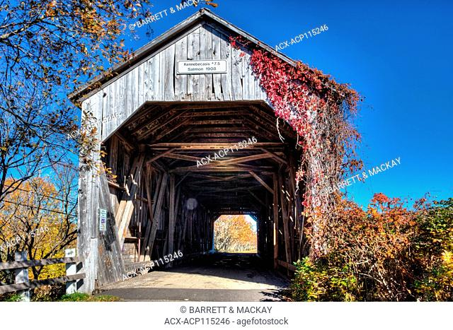 Kennebecasis #7.5 Covered Bridge, Four Corners, Sussex, New Brunswick, Canada