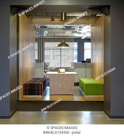 Modern architecture in office conference room