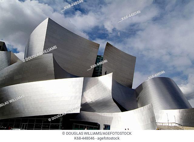 Walt Disney Concert Hall. Frank Gehry, architect. Los Angeles. California. USA