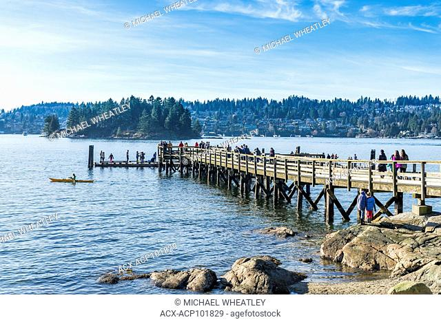 Pier, Belcarra Regional Park, Port Moody, British Columbia, Canada