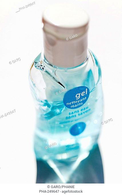 Alcohol-based disinfectant gel