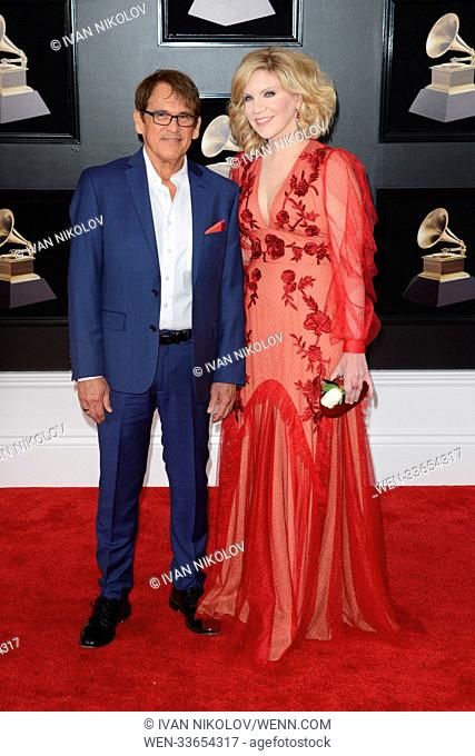 60th Annual GRAMMY Awards held at Madison Square Garden Featuring: Ron Browning, Alison Krauss Where: New York, New York