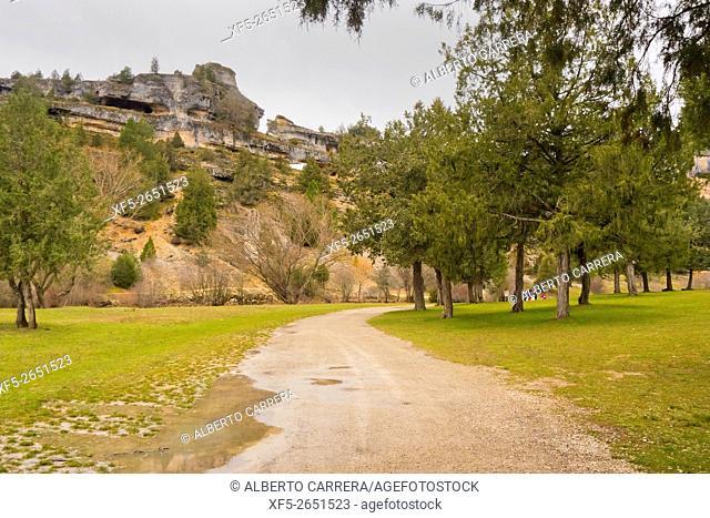 Cañón del Río Lobos Natural Park, Special Protection Area, Soria, Castilla y León, Spain, Europe