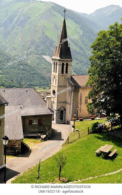 France, Pyrenees Atlantiques, Ossau valley, Laruns, Aas village
