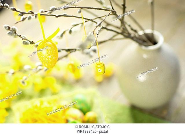Easter Decoration, Osijek, Croatia, Europe