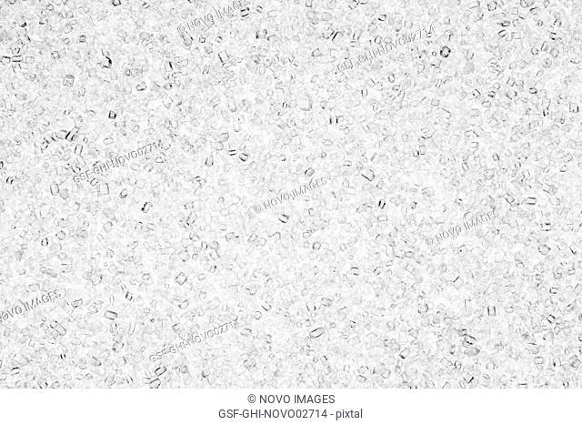 Sugar Granules, Abstract Close-Up