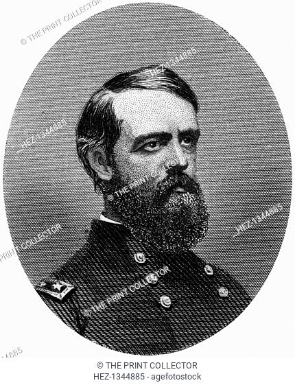 Alfred Howe Terry, Union Army general, 1862-1867. After the Civil War, Terry (1827-1890) served as military commander of the Dakota Territory