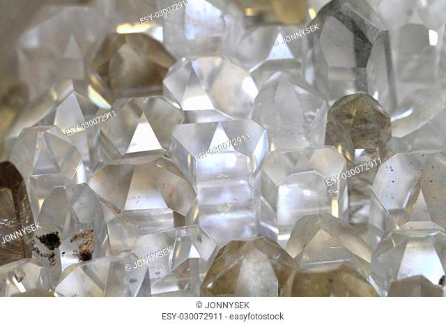 white rock-crystal texture as very nice mineral background