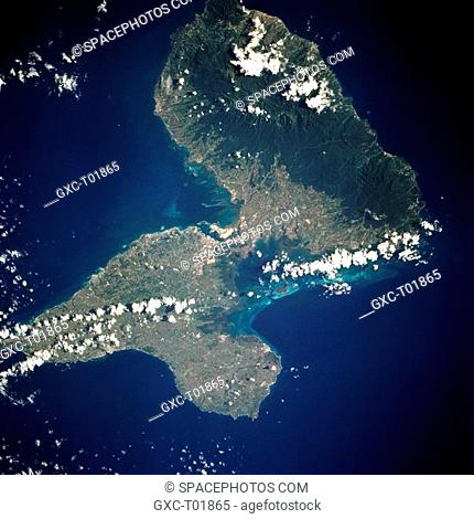 Guadeloupe, an overseas department of France located in the Leeward Islands of the Lesser Antilles, comprises two islands separated by a narrow channel—Grande...