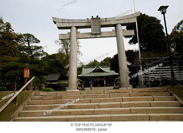 Suizenji Park,Jojuen Garden,Japan