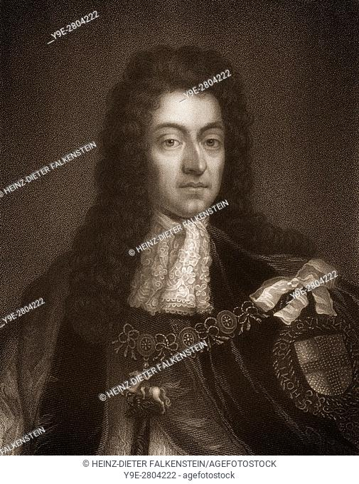 William III & II, 1650 - 1702, Prince of Orange, Stadtholder William III of Orange, as William III King of England and Ireland