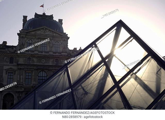 Louvre Museum. Paris. France. Europe