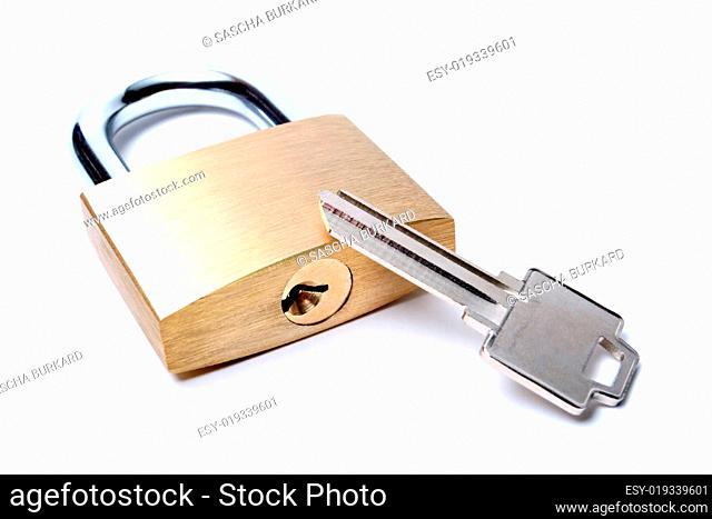lock with uncut key
