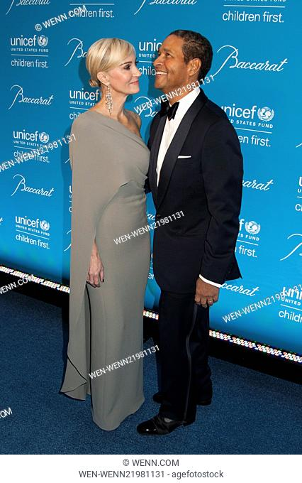 Unicef Snowflake Ball 2014 Featuring: Hilary Gumbel,Bryant Gumbel Where: New York, New York, United States When: 02 Dec 2014 Credit: WENN.com