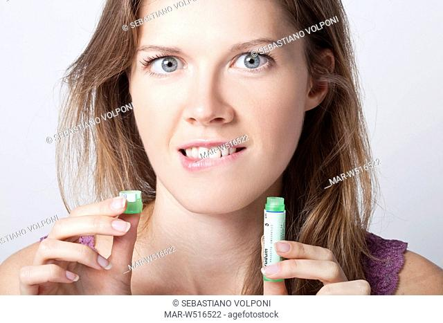 woman, homeopathic medicines