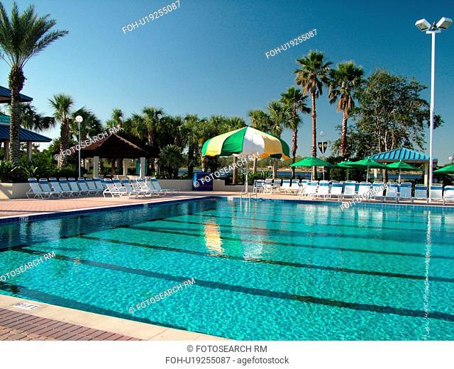 Orlando, FL, Florida, Orange Lake Country Club and Resort, swimming pool, Olympic size pool