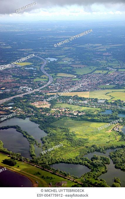 London - aerial view