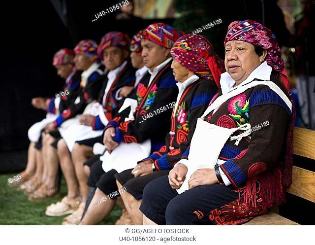 Guatemala, Chichicastenango, Cofriada